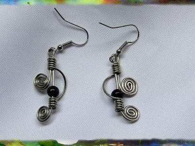 How to Construct Elegant Double Spiral Earrings by  Ross Barbera