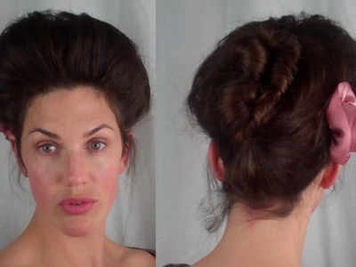 How to EDWARDIAN 'Psyche knot' Hair Tutorial (1900's 1910's hairstyle ) - Vintagious