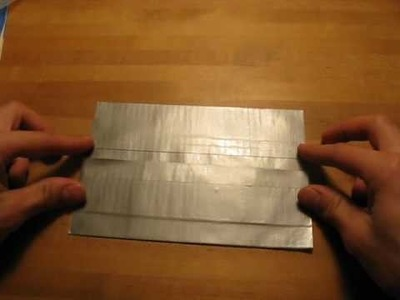 How to make a Duct tape pencil case