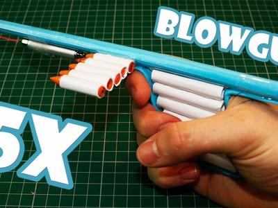 How To Make a Laser Assissted Blowgun - (Paper Gun)