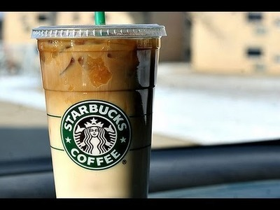 How to make a Starbucks Iced Caramel Macchiato