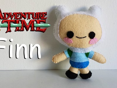 How to Make an Adventure Time Finn plushie tutorial