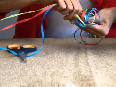 How to Tie a Raffia Bow