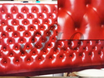 HOW TO UPHOLSTER A LEATHER TUFTED HEADBOARD - ALOWORLD