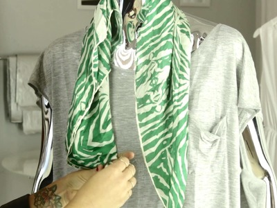 How to Use a Scarf Ring : Accessories & Style