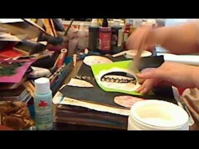 How to use colorwash with gesso