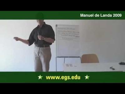 Manuel De Landa. Deleuze and The New Materialism. 2009. 9.11