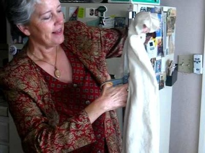 Mother destroys the old sweater i loved so much