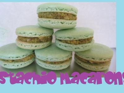 Pistachio Macarons Tutorial (Easy & Foolproof method!)