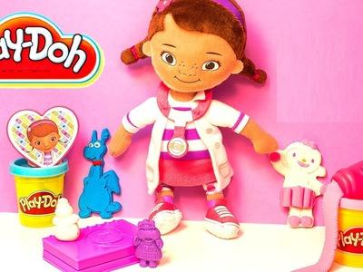Play Doh Doc McStuffins Doctor Kit Playset Disney Junior Playdough Doctora Juguetes Hasbro Toys
