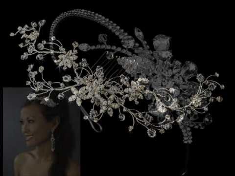Swarovski Crystal Bridal Hair Jewelry.wmv