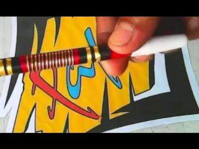 Tutorial Agar Spidol Dan Pencil Lebih Indah _ Tutorial For Pensil Markers And More Beautiful