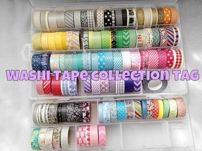 Washi Tape Collection Tag