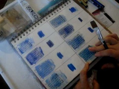 Art Journaling for Beginners:  Watercolor Crayons Demystified pt 1