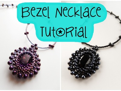 Bezel Necklace Tutorial