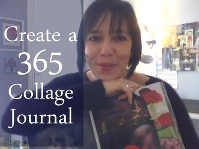 Create a 365 Collage Journal: A Creative Living Project from Jamie Ridler Studios