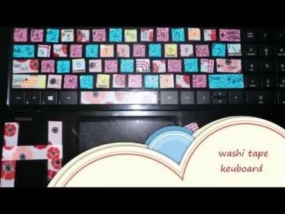 D I Y Washi Tape Keyboard =^ ^=