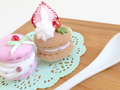 DIY easy Macaron Plush Kit Tutorial