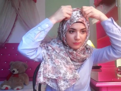 Everyday Hijab tutorial #2 (maxi scarf)