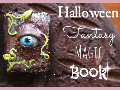 Fantasy Magic Book - Halloween Polymer Clay Tutorial #1