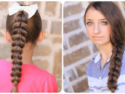 How to create a Pull-Through Braid | Easy Braided Hairstyles