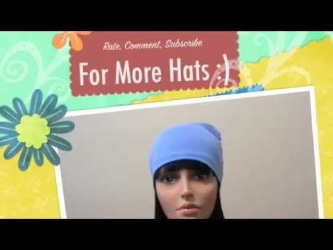 How to Make a Chemo Cap, Scull Cap, or Scarf Liner