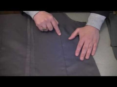 How-to-make-a-waistcoat - Attaching the back lining - sample.flv