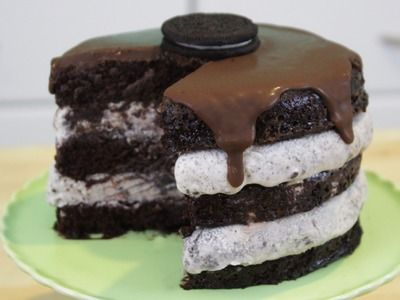 How to Make Oreo Ice Cream Cake!