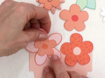 How to Make Paper Flowers in the Pretty Posies Card-Making Kit