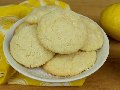How to Make Puffy Lemon Cookies!