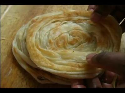 Kerala Parotta - how to make kerala parotta from scratch!!
