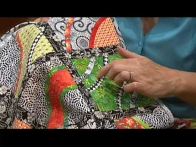 Learn to create fusible bias trim with your serger