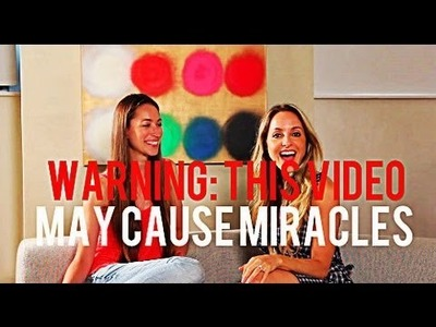 MAY CAUSE MIRACLES Interview with Tara Stiles