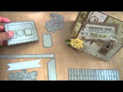 MFT: Recycled Corrugated Cardboard tutorial & Die-Namics sneak peek!