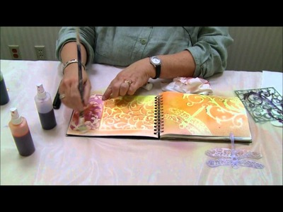 Mixed Media in Minutes:One-Minute Journal Page with Joanne Sharpe