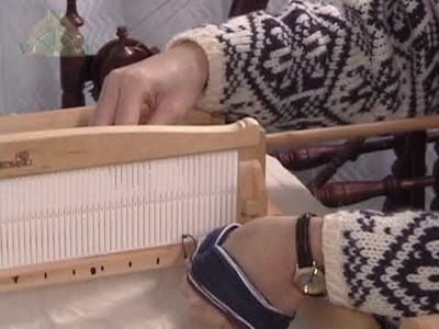 The Kromski Harp -  Part 3 - Dressing the Loom