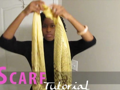 Tutorial: Bibbed Scarf