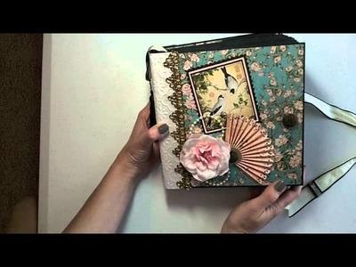 8x8 Birdsong Mini Album PDF Tutorial