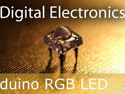 Arduino: RGB LED Tutorial (Pirhana RGB with LCD Display)