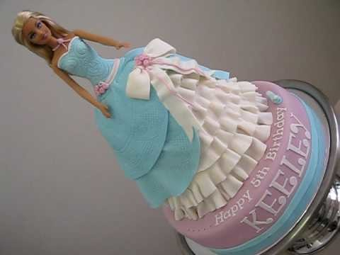 Barbie Cinderella Princess Doll Cake - How to Make a Doll Cake by Pink Cake Princess (Click on Link)