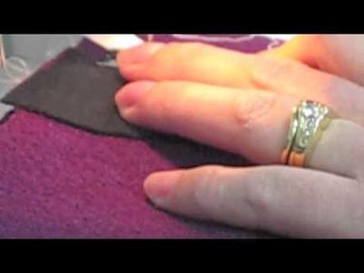 Bound Buttonhole Part 2