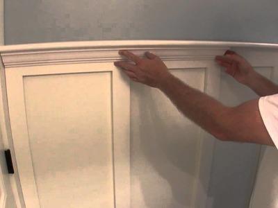 Build Simple Bathroom Wainscot Pt 2