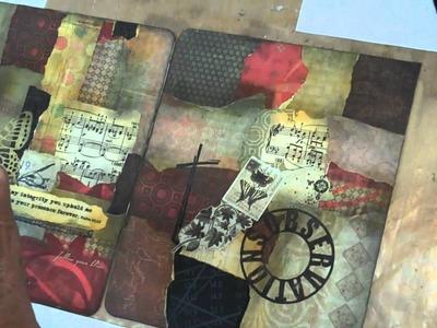 Collage cover technique