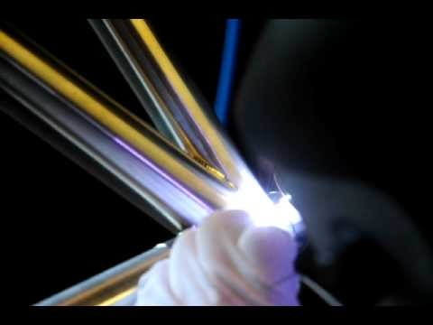 Crisp Titanium custom titanium bike frame -welding sequence -dress pass