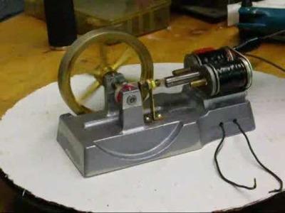 ELECTRO MAGNET COIL ENGINE (motor) #3 Tubalcain