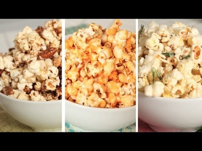 Flavoured Popcorn - 3 Delicious Ways