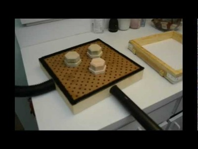 Home-made Vacuum Forming Rig