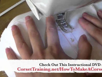 How To Make A Corset - DVD Training Course