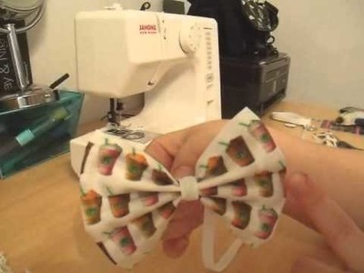 How To Make A Fabric Hair Bow