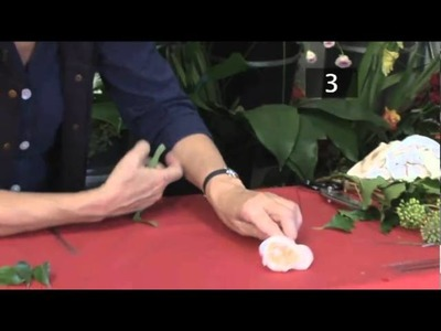How To Make A Floral Buttonhole